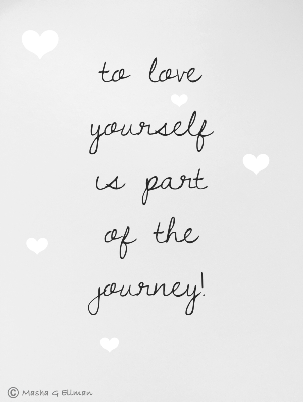 to love yourself