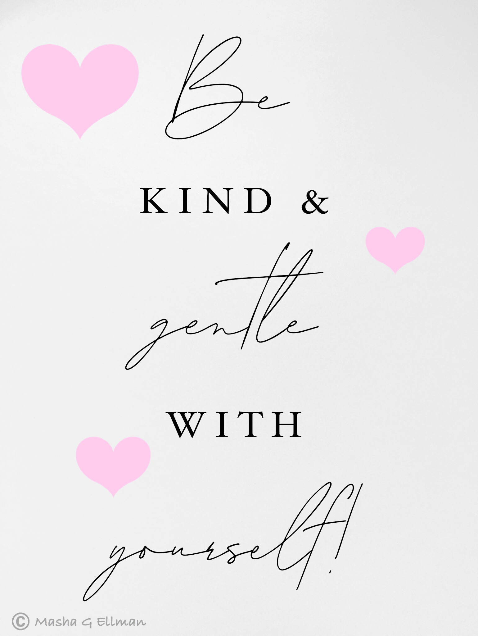 be kind and gentle
